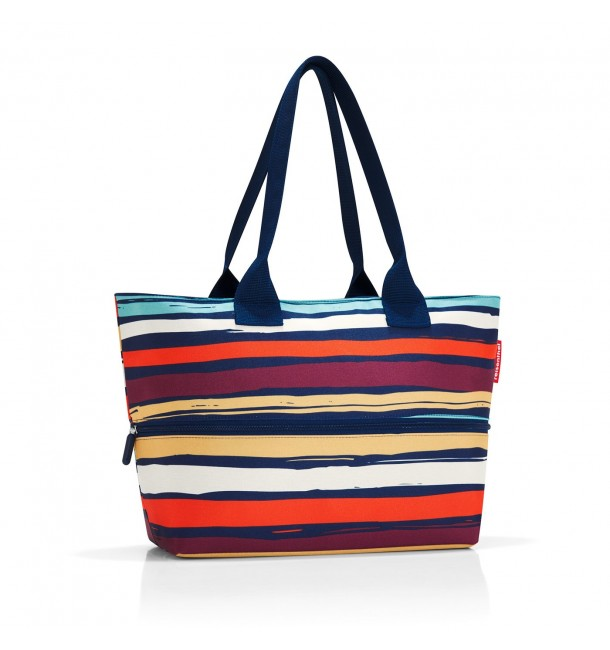 Sac Shopper E1 artist stripes - Reisenthel