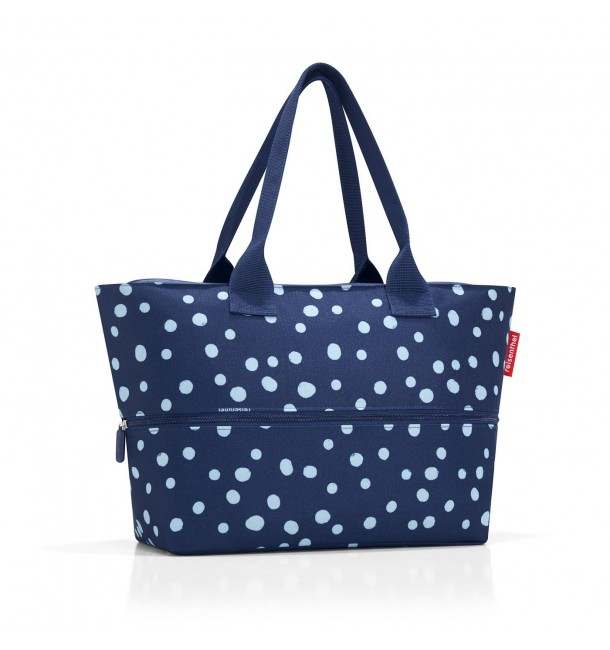 Sac Shopper E1 spots navy - Reisenthel