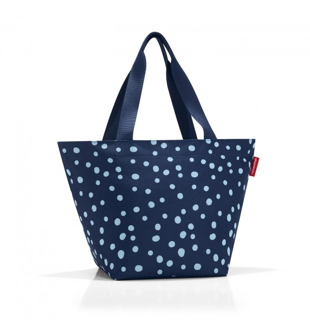 Sac Shopper M spots navy - Reisenthel