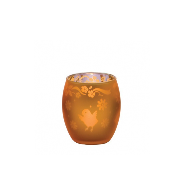 Photophore verre Or Œufs - Yankee Candle