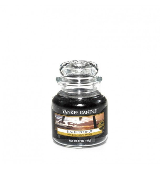 Bougie Petite Jarre  Black Coconut - Yankee Candle
