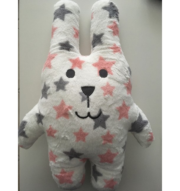 Coussin Câlin RAB le Lapin Rock Taille Junior - Craftholic
