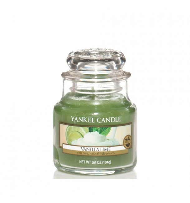 Bougie Petite Jarre Vanilla Lime - Yankee Candle