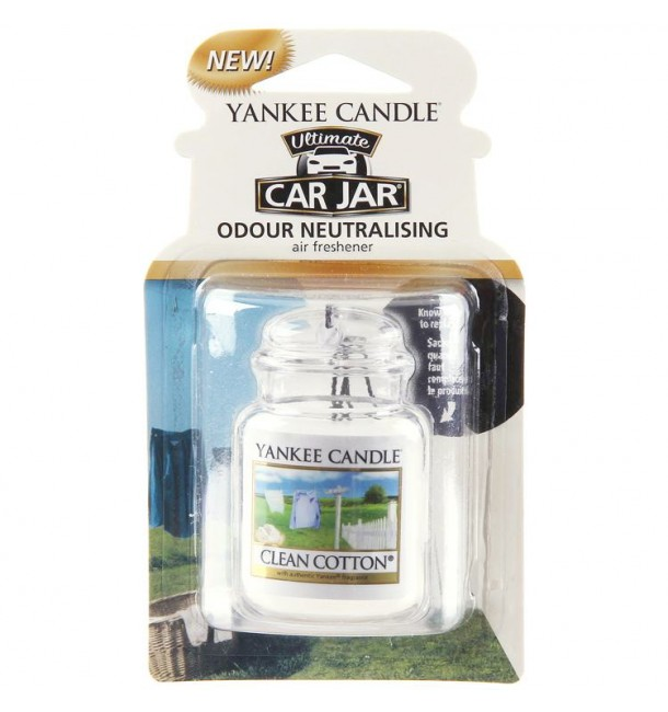 Car Jar Ultimate Clean Cotton - Yankee Candle