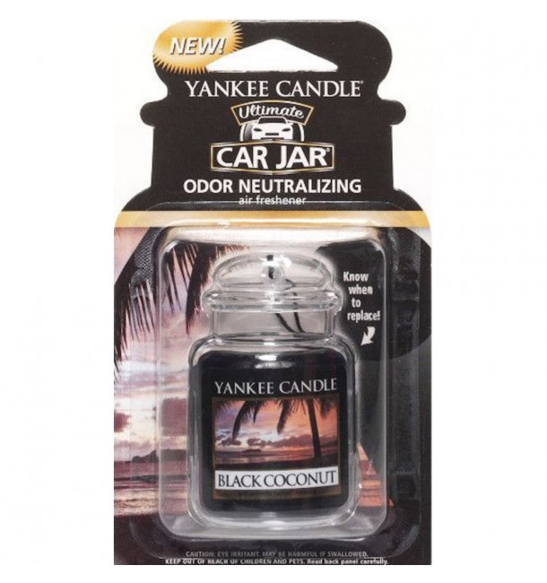 Car Jar Ultimate Black Coconut - Yankee Candle