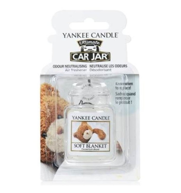 Car Jar Ultimate Soft Blanket - Yankee Candle