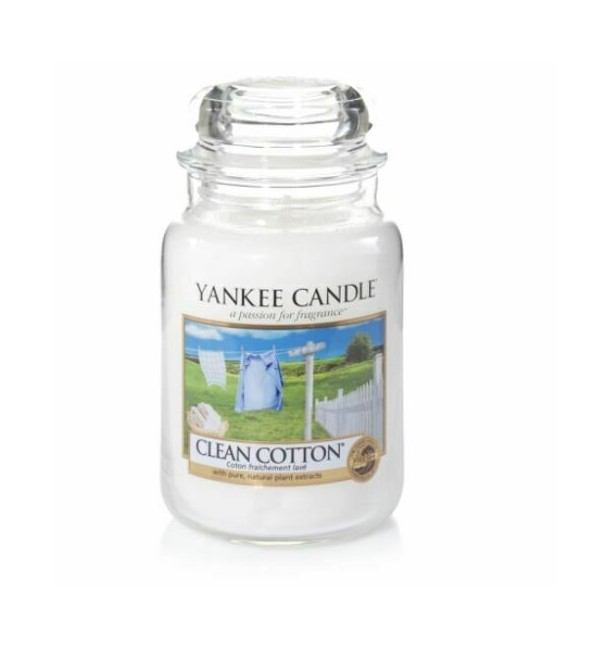 Bougie Grande Jarre Clean Cotton - Yankee Candle