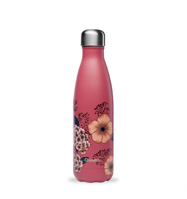 Bouteille isotherme 500 ml Anémones - Qwetch