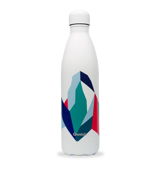 Bouteille isotherme 750 ml Altitude blanc - Qwetch